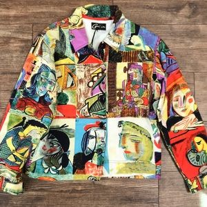 Picasso faces jacket